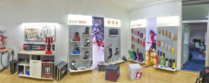 BOOTDOC Showroom in Bad Ragaz