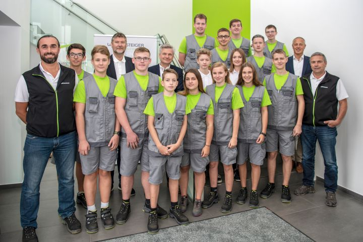 Apprentices at WINTERSTEIGER