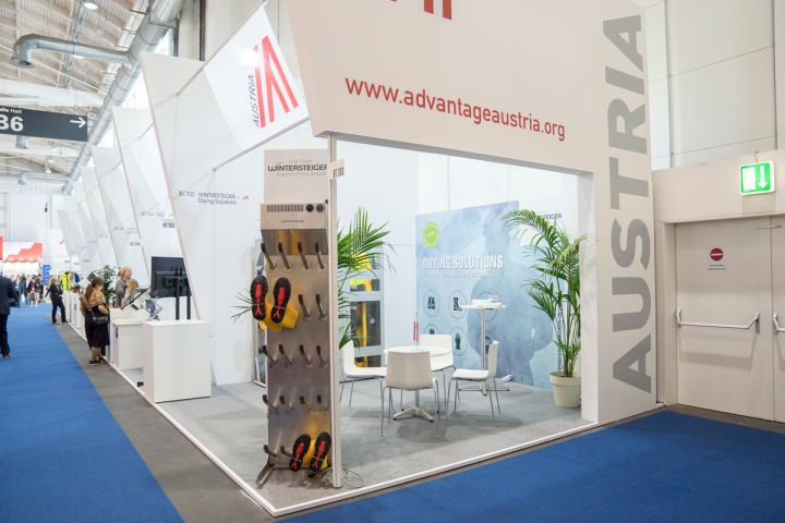 Booth at the SMM in Hamburg