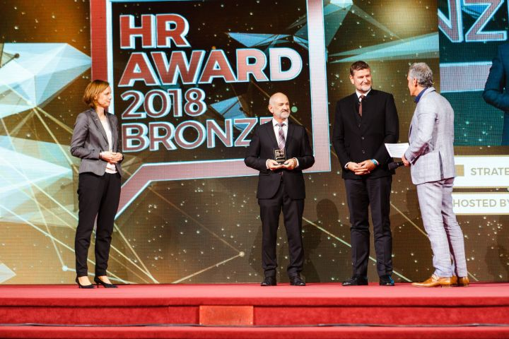 HR Award in bronze for WINTERSTEIGER