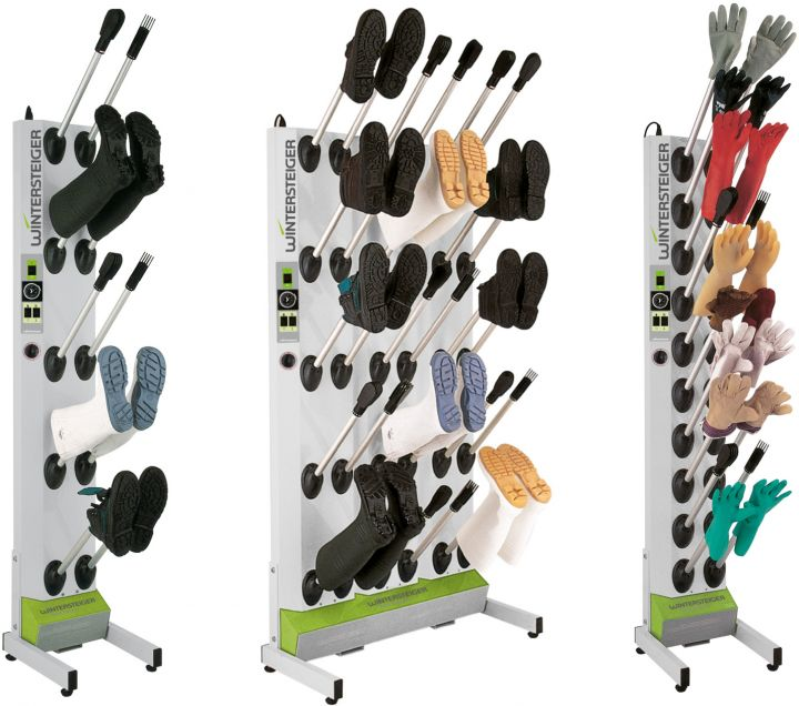 Innova Drying systems for shoes, boots and gloves.