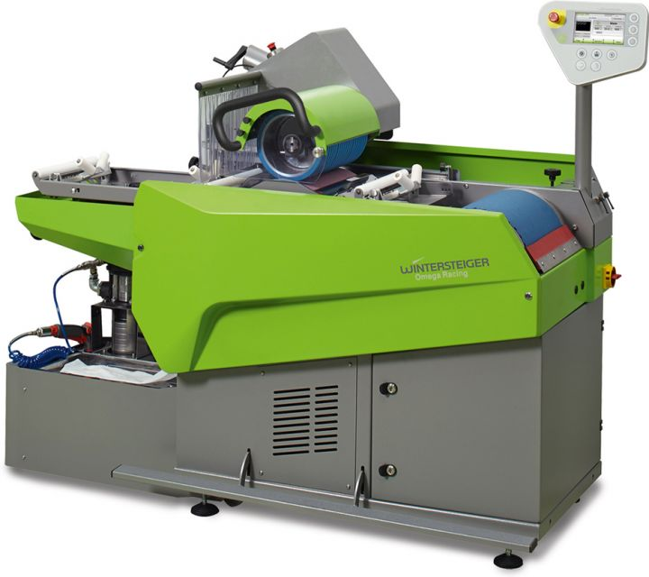 Omega RSBI The inline racing stone/belt grinding machine for skis, snowboards and cross country skis.