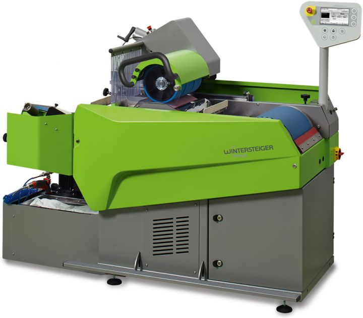 Omega SBI The inline grinding stone/belt grinding machine for skis, snowboards and cross country skis.