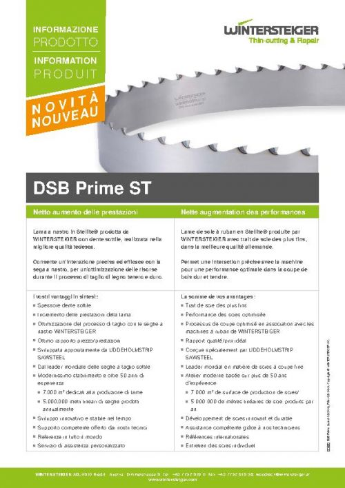 DSB Prime ST (IT, FR)