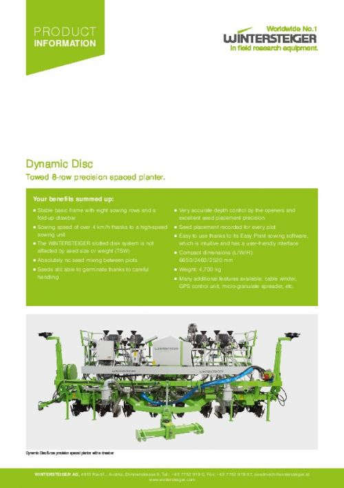 Dynamic Disc Pulltype (EN)