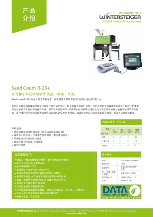Seed Count R-25+ (ZH)