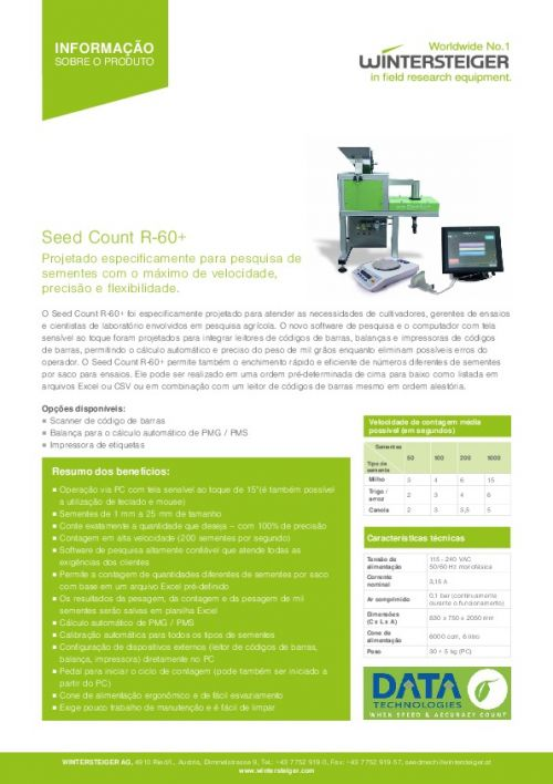 Seed Count R-60+ (PT)