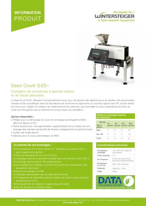 Seed Count S-25+ (FR)