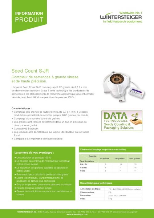 Seed Count S-JR (FR)