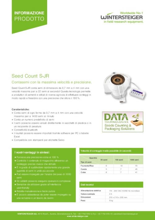 Seed Count S-JR (IT)