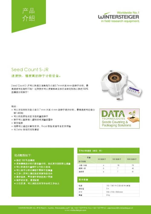 Seed Count S-JR (ZH)