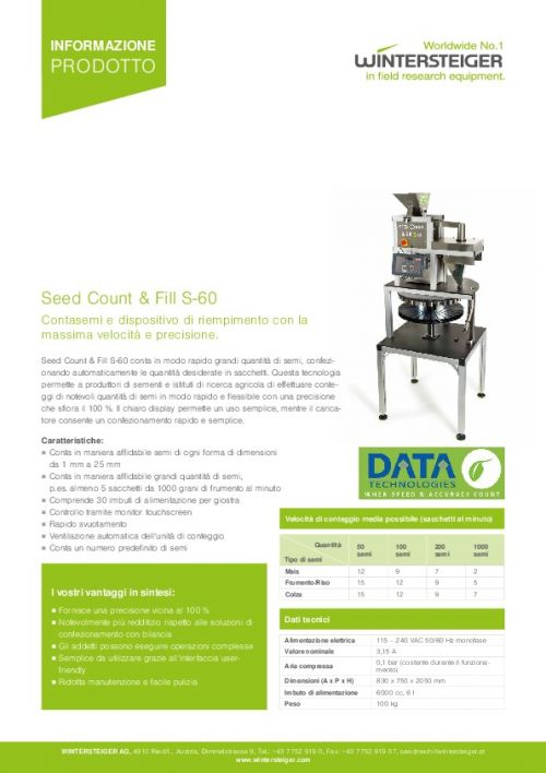 Seed Count & Fill S-60 (IT)