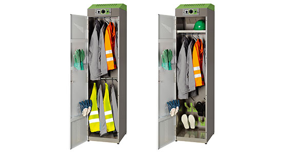 Primus Work clothes lockers for small groups.