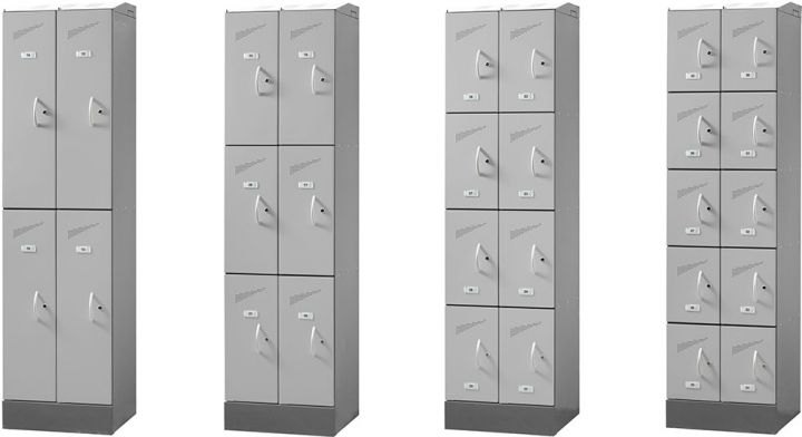 Easystore Storage lockers (4 - 10 doors)