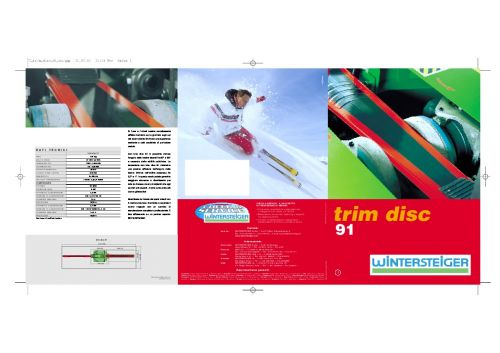Trim Disc 91 (ITA)