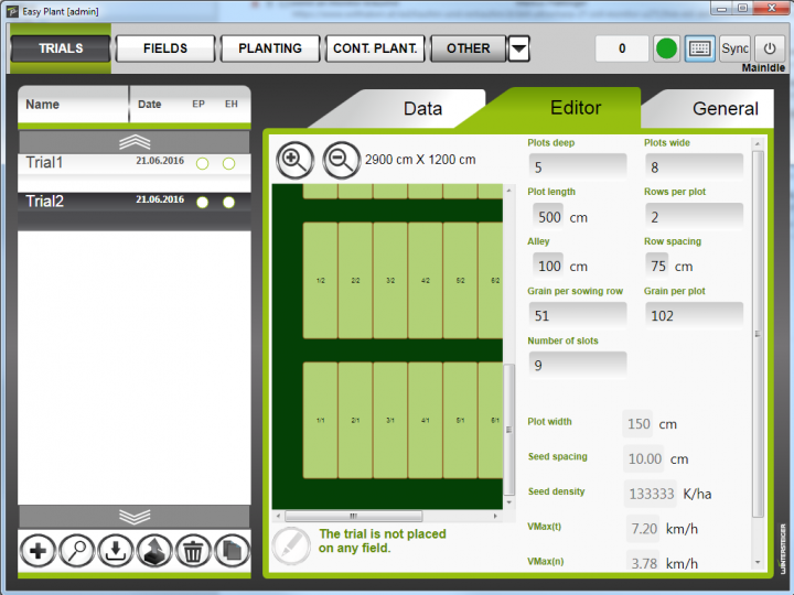 Easy Plant Planting software