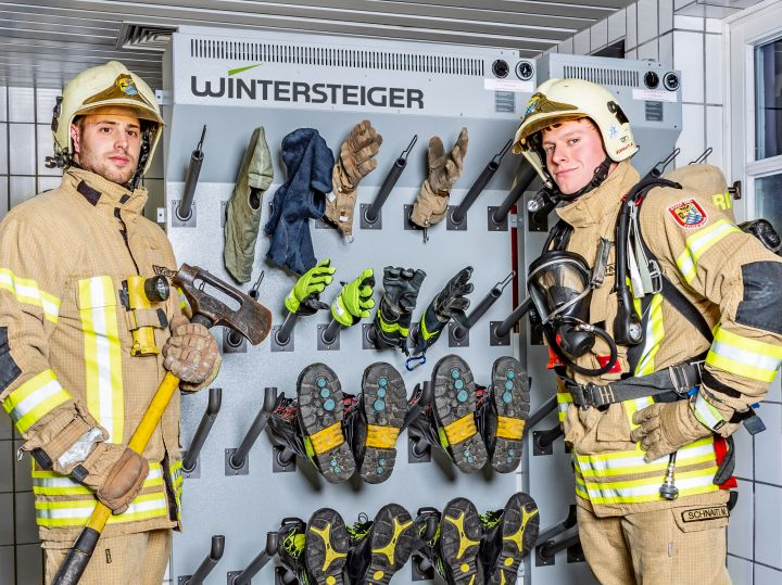 Volunteer fire department in Ried has invested in drying panels