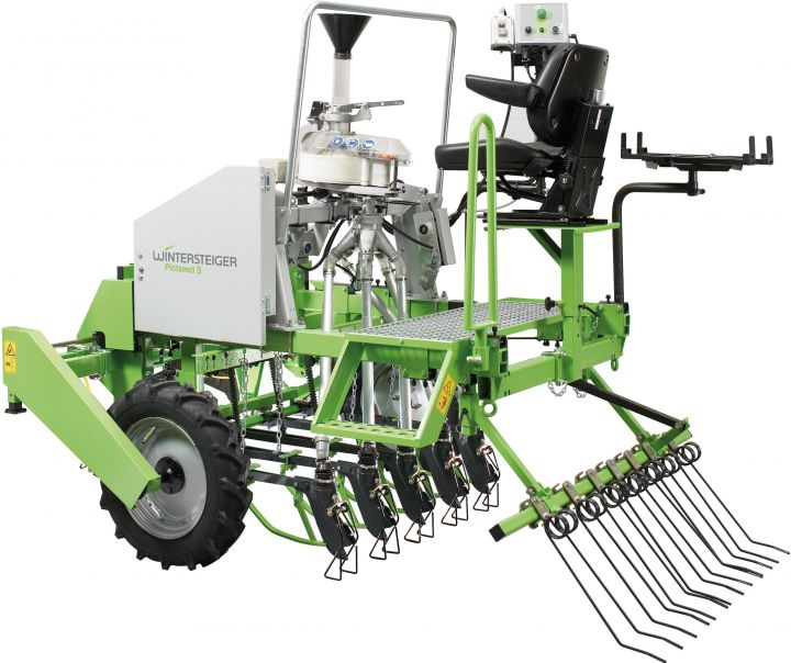 Plotseed S Light plot seeders, tractor mounted