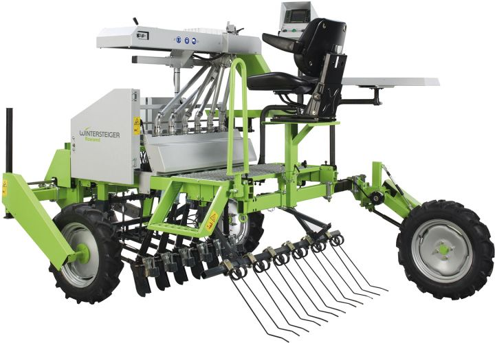 Rowseed S Light single row seeder, tractor mounted