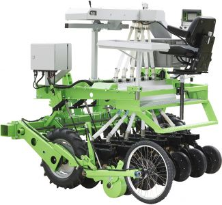 Rowseed XL Heavy single row seeders, tractor mounted
