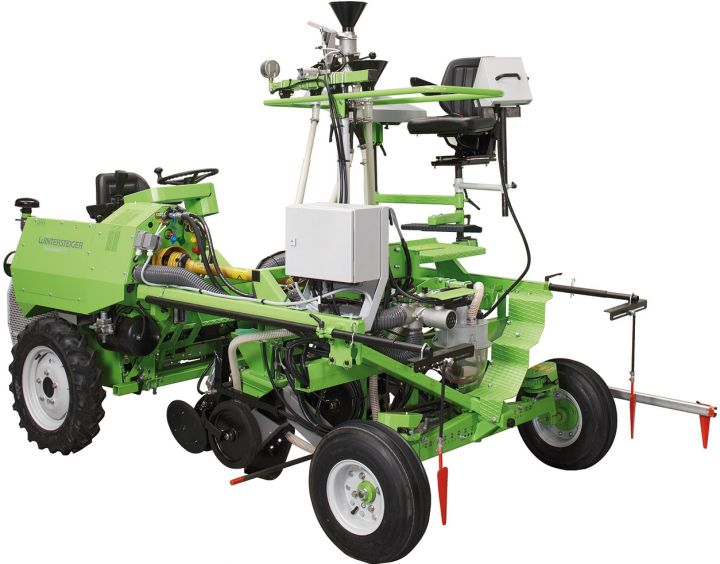 Monoseed TC Precision spaced planter, self-driving