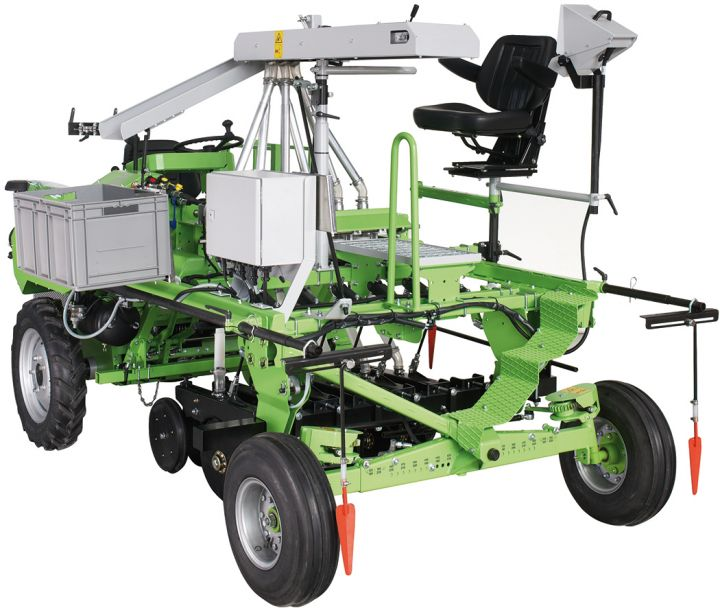 Rowseed TC Single row seeder, self propelled