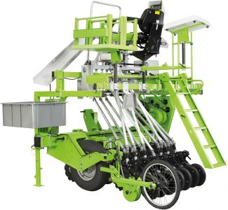 Rowseed XXL Heavy duty single row seeder for no-tillage application, tractor mounted