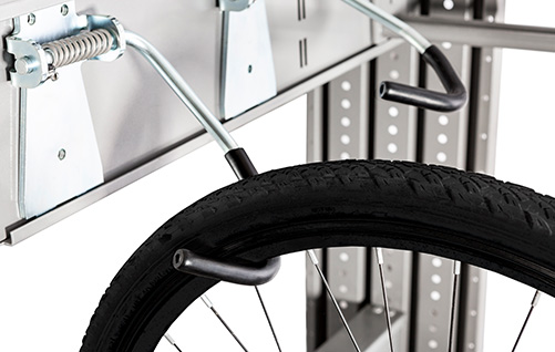 Easystore bike hanging system  - Sturdy storage system for mounting to wall or ceiling.