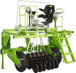 Plotseed XXL Plotseeder for no-tillage application, tractor mounted