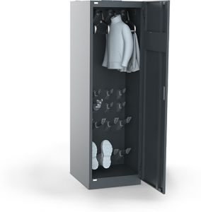 Primus Set 4 Helmet Premium Drying locker - Closed drying system for 4 pairs of shoes, 4 pairs of gloves and 4 helmets