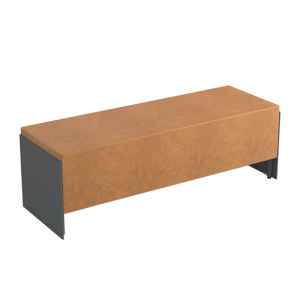 Fully upholstered bench