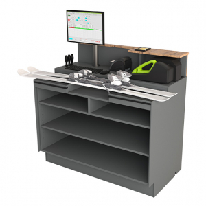 Adjustment desk 125 open