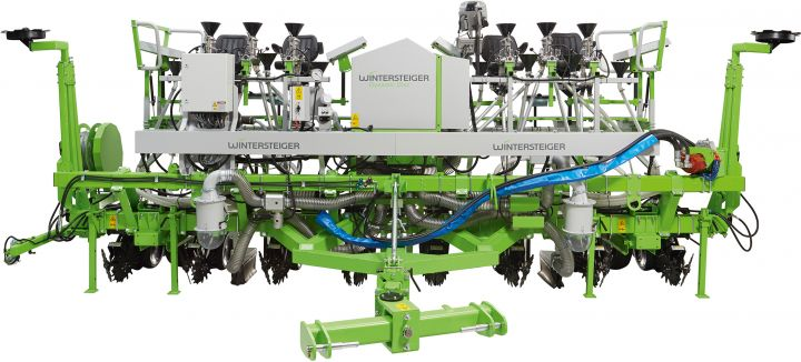 Dynamic Disc - Pulltype 8-row precision spaced planter