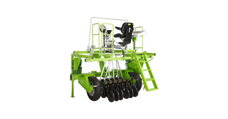 Tractor Mounted Plot Seeder For No Tillage Application
